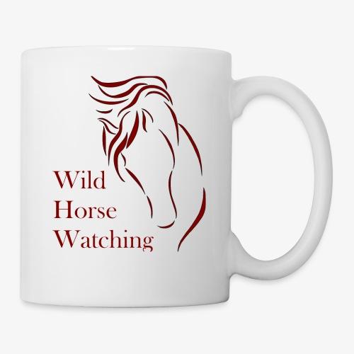Logo Aveto Wild Horses - Tazza
