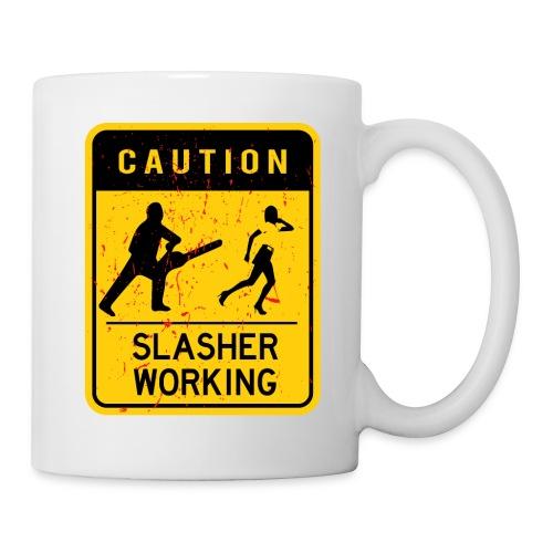 Slasher working - Mug blanc