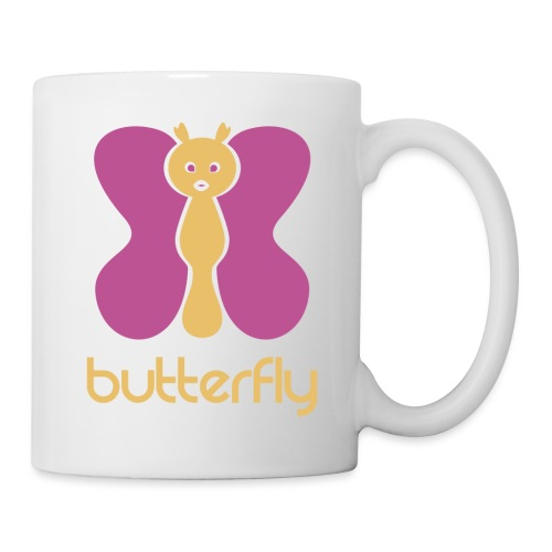 BUTTERFLY = MARIPOSA - Taza