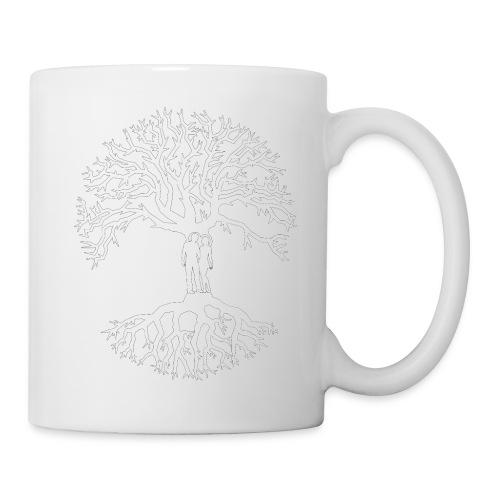 tree of life arbre de vie couple amoureux blanc - Mug blanc