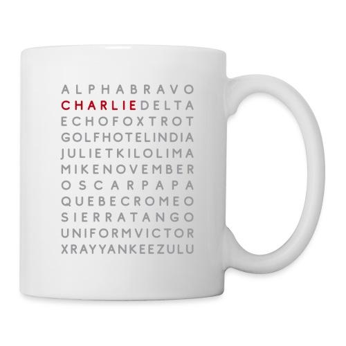 Charlie - Mug blanc