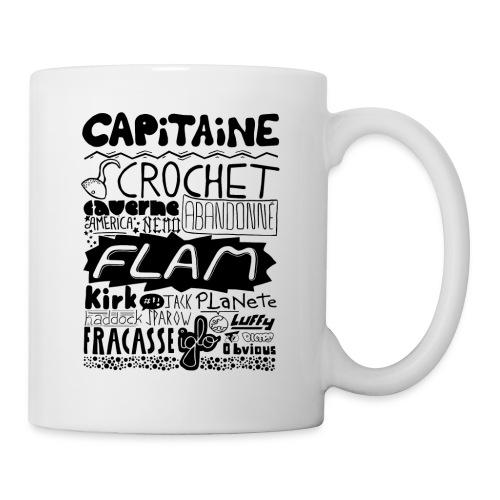 capitaine - Mug blanc