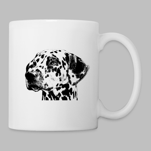 Dalmatiner Kopf Hund - Tasse
