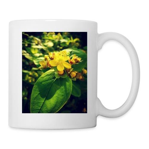 Fleur - Mug blanc