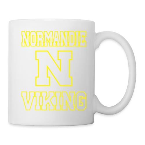 Normandie Viking Def jaune - Mug blanc