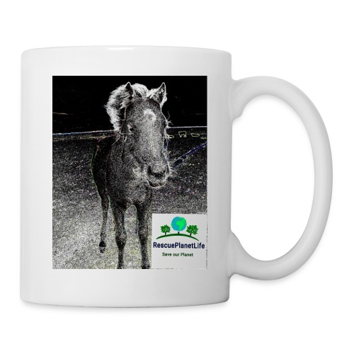 RescuePlanetLife Pferd-Design - Tasse