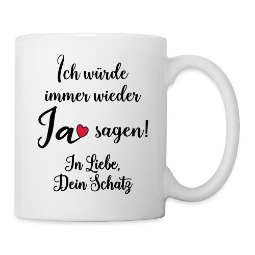 Liebe Ehe Mann Frau Geschenk Verheiratet Spruch - Tasse