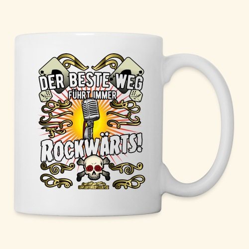 Rock Music Shirt ROCKWÄRTS - Tasse