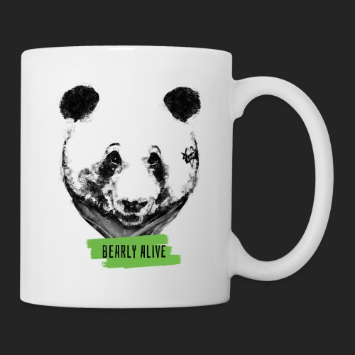 Panda bearly alive - Mug blanc