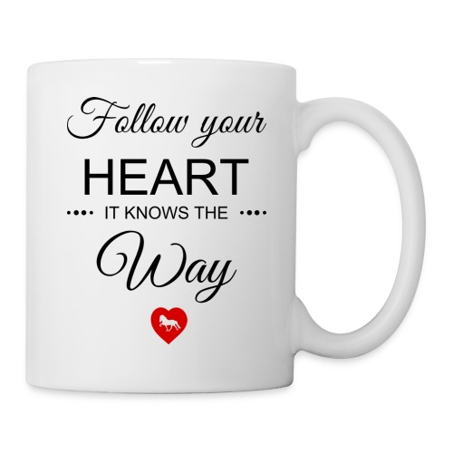 follow your heartbesser - Tasse