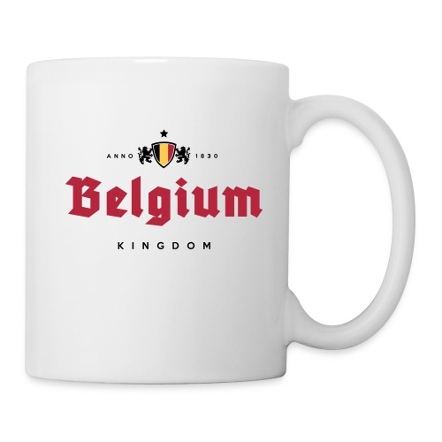 Bierre Belgique - Belgium - Belgie - Mug blanc
