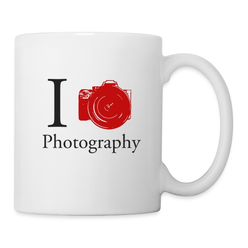 I Love Photography Collection - Tasse