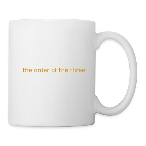 the order of the three 1st shirt - Mug