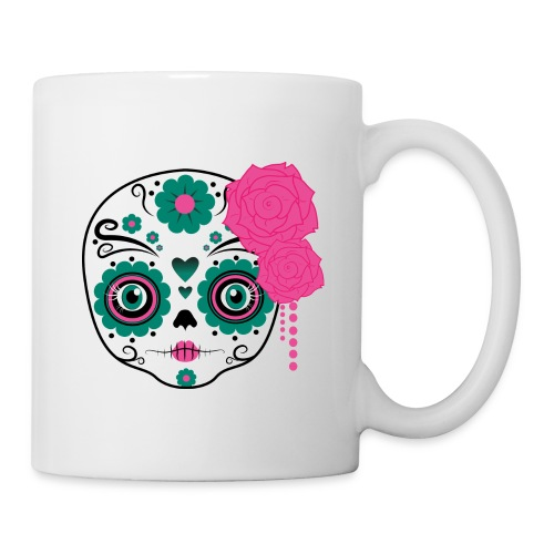 teschio messicano - Tazza