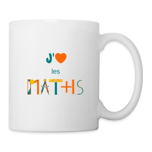 J'aime les MATHS - Mug blanc