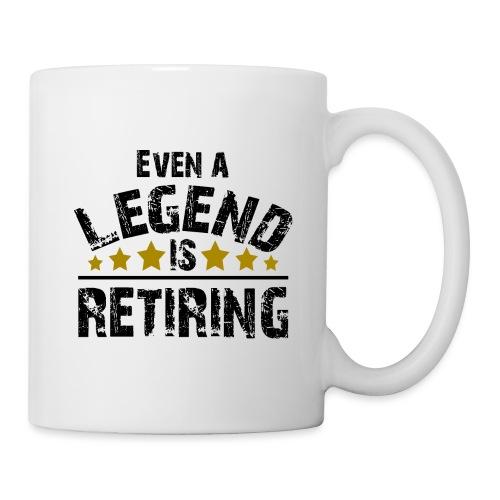 Legend Rente Pension Ruhestand Pensionist Geschenk - Tasse