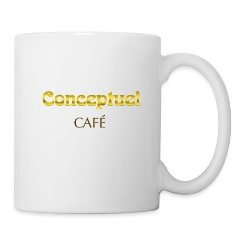 Konzeptionelle kaffee - Tasse