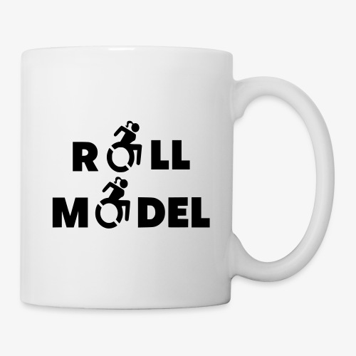 Dame in rolstoel is ook een roll model - Mok