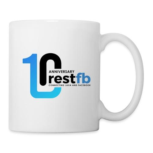 10years RestFB - anniversary logo - Mug