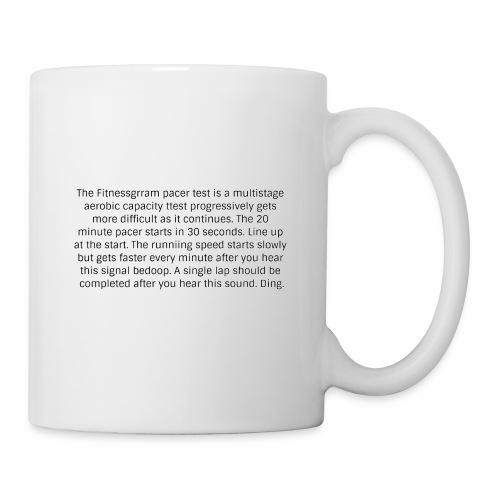 FitnessGram pacer Test - Mug