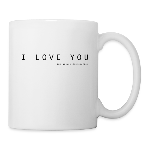 I Love You by The Nerved Corporation - Mug