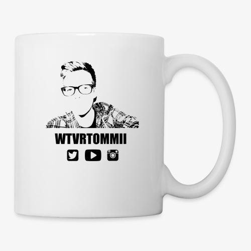 wtvrtommii logo - Mug