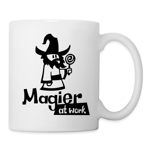 magier at work - Tasse