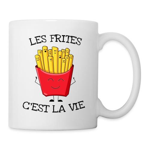 Les frites c'est la vie - Mug blanc