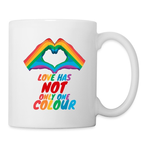 Love Has NOT Only One Color - LGBT Pride Life - Tasse