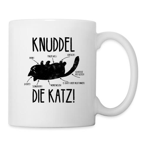 Lustige freche Katze Main Coon Geschenk - Tasse