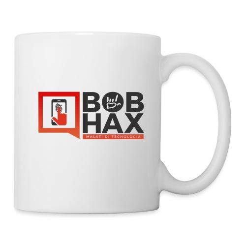 LOGO - BobHax nero trasp - Tazza