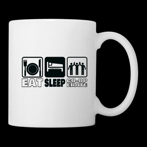 Eat Sleep Co op Mugs 2018 png - Mug