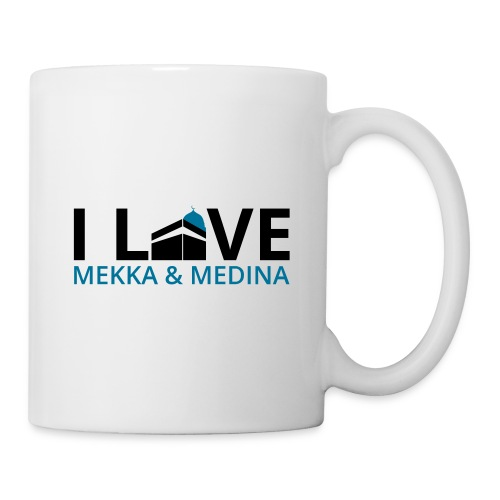 I love Mekka Medina - Tasse