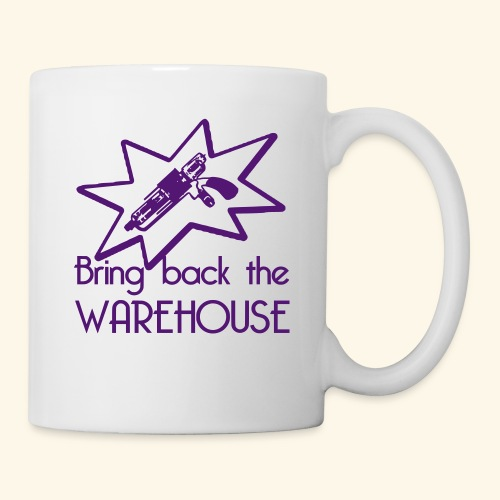 Bring Back the Warehouse Warehouse 13 Shirts - Mug