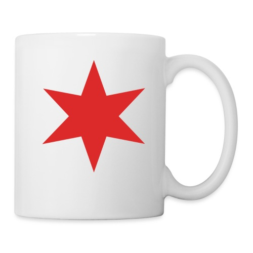 Red Chicago Star - Mug