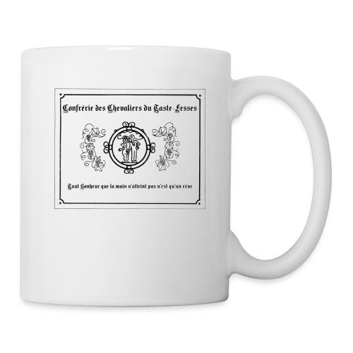 etiquette - Mug blanc