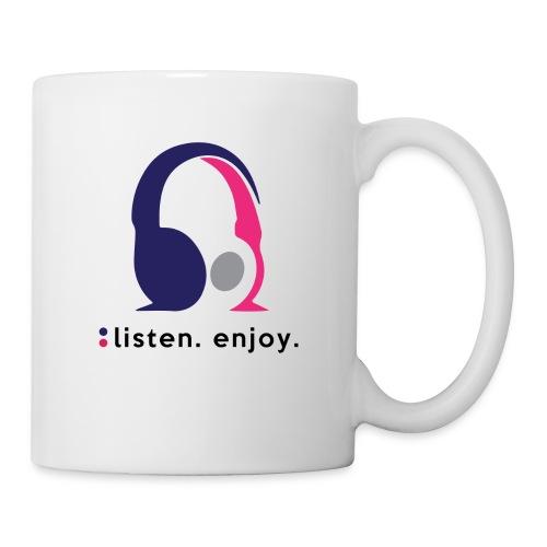 liste. enjoy. - Mug