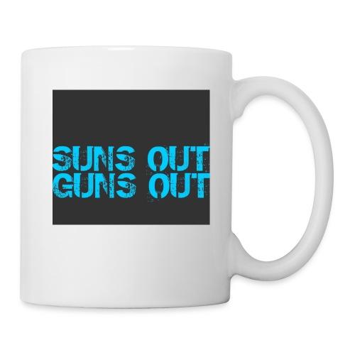 Felpa suns out guns out - Tazza