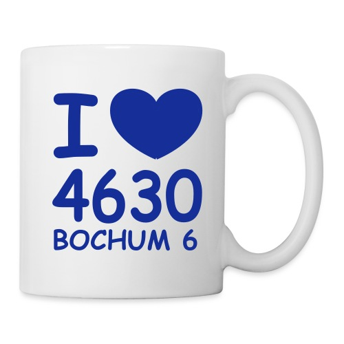 I ♥ 4630 BOCHUM 6 - Tasse