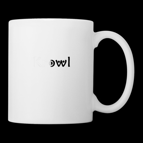 Krowl 1st Yin & Yang Design - Mug blanc
