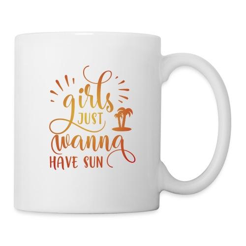 Girls just wanna SUN - Mug blanc