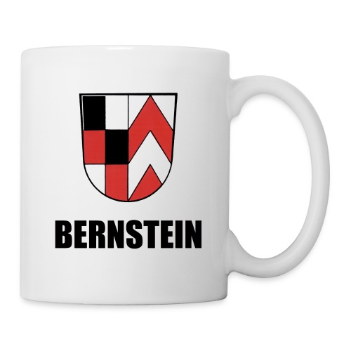 Bernstein- Wappen - Tasse