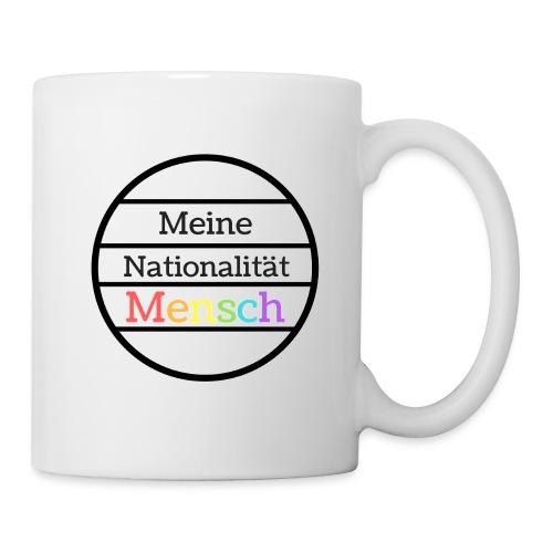 Nationalität Mensch - Tasse