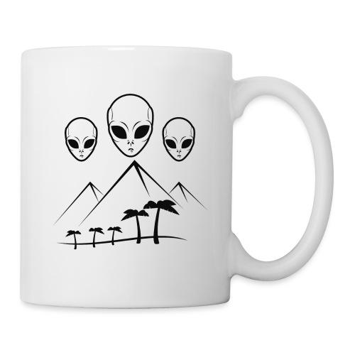 Pyramides & Extraterrestres - Mug blanc