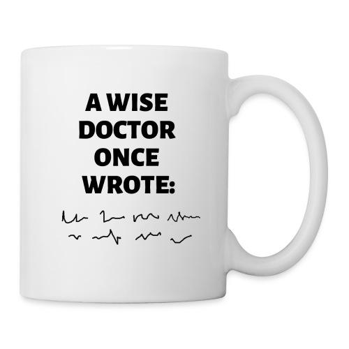 Morsomt motiv til doktor - Kopp