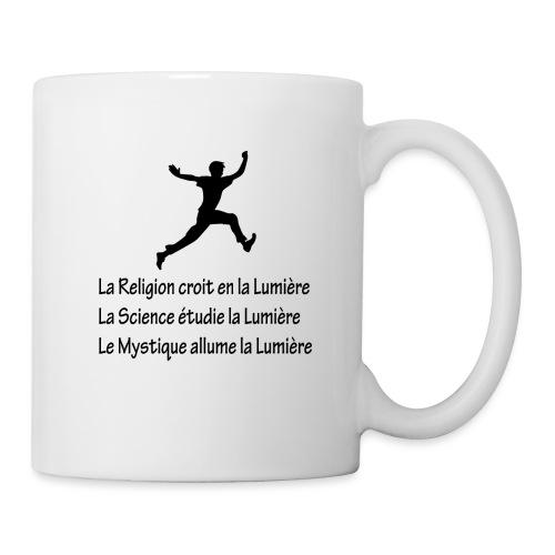 Lumière Religion Science Mystique - Mug blanc