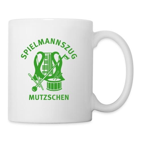 Logo Spielmannszug Mutzschen e V - Tasse