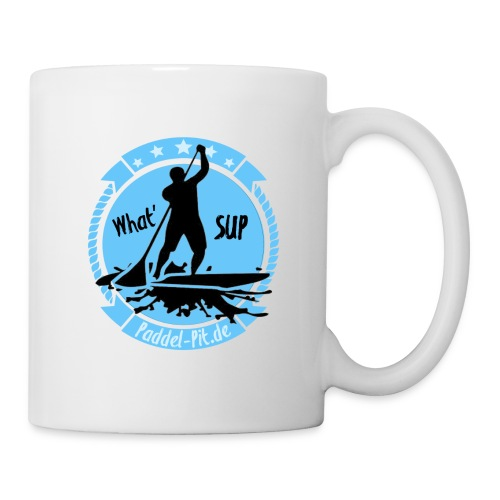 What`SUP. SUP Board Stand Up Paddling Sport - Tasse