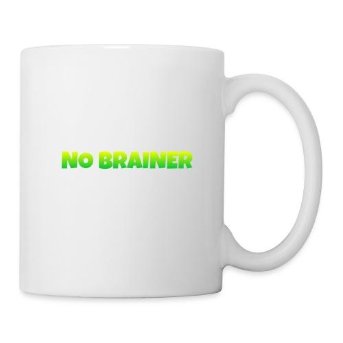 No Brainer - Taza