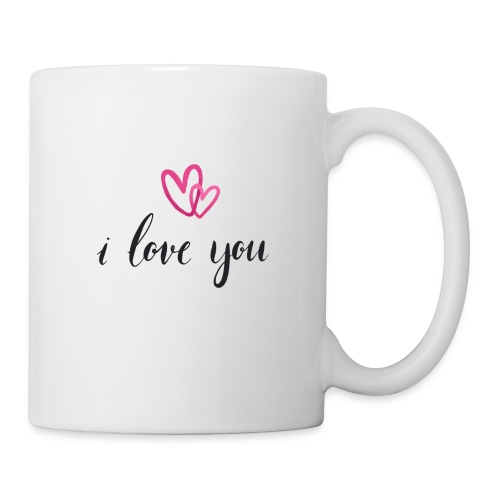 I love you - Mug blanc